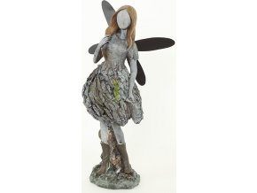 Víla oxidová keramika 13,5x19x35cm