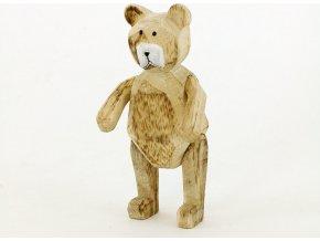 Medvídek dřevěný - dekorace