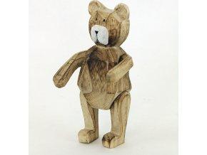 Medvídek dřevěný 20x11cm