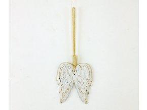 Křídla dřevěná dekorační závěsná