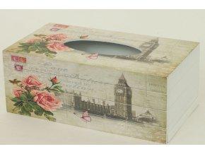 Krabička na kapesníky MDF Big Ben