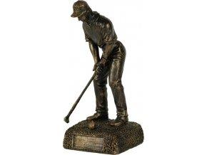Soška Golfista | polyresin | 21cm