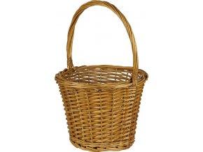 Proutěný košík | medový
