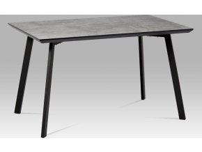 Jídelní stůl imitace betonu 130x80cm