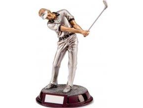 Soška Golfista | polyresin | 24cm