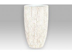 Polyresinová váza pro umělé květiny 18x18x30cm