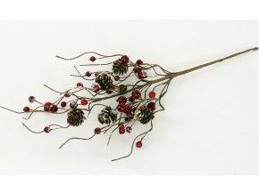 Větev umělých jeřabin