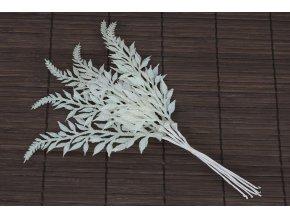 Větvička umělá bílá