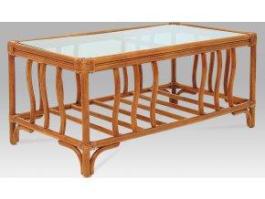 Konferenční stolek ratanový 105x55x47cm