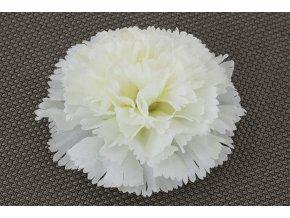 Umělý květ karafiát krémový