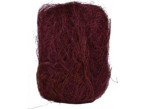 Sisálové vlákno | 50g | různé barvy
