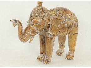 Dřevořezba | slon | 40cm