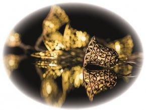 Světelný řetěz zvonky LED 135cm