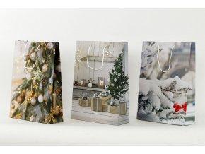 Dárková vánoční taška 33x9x41cm