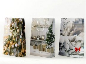 Dárková vánoční taška 25x9x34cm