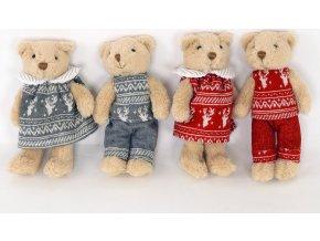 Medvídek textilní dekorace