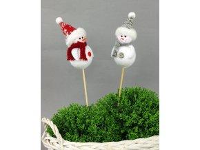 Sněhulák dekorační zápich