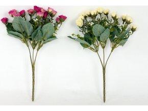 Květina umělá  puget růžiček