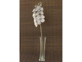 Orchidea umělá květina glitrovaná