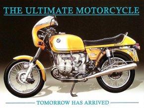 Plechová cedule Motorka BMW The ultimate motorcycle 30x40cm