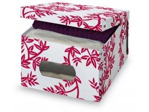 Úložný box s oknem s větvičkami
