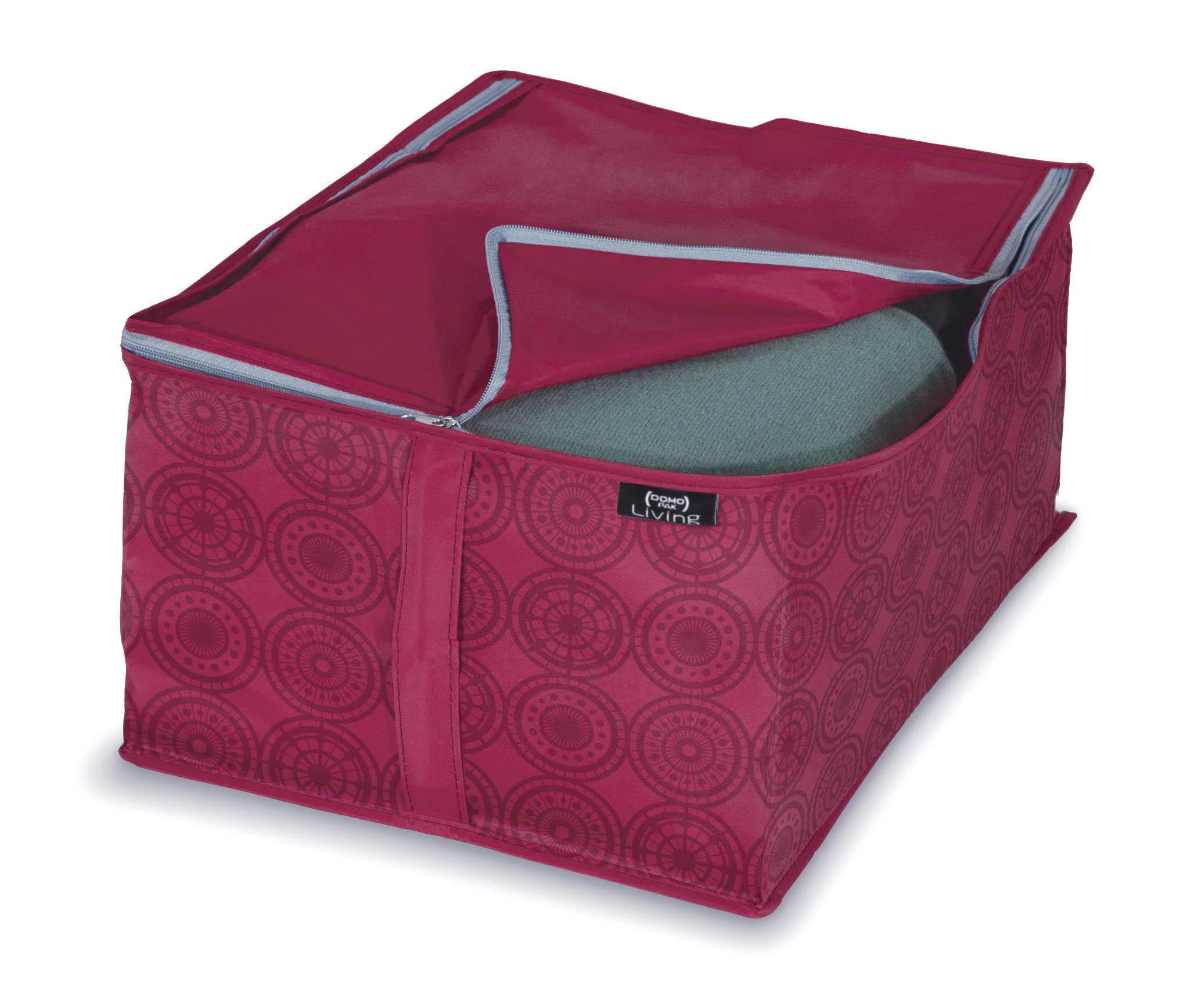 DOMOPAK Living Úložné boxy růžové Velikost: malý