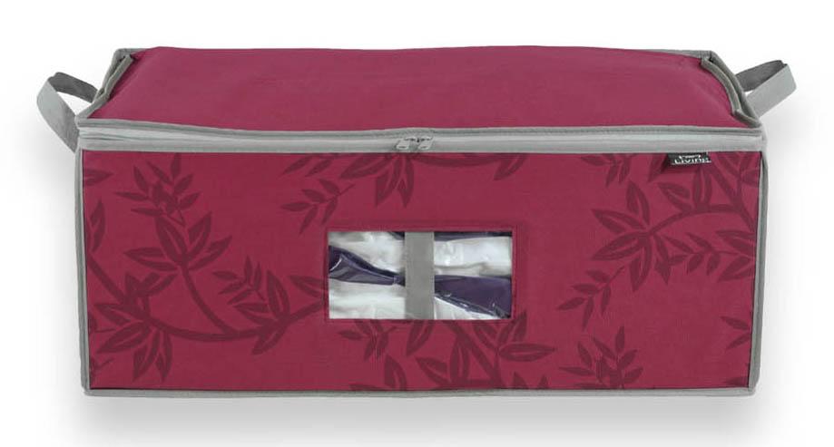 DOMOPAK Living Úložný box s vakuovým pytlem růžový