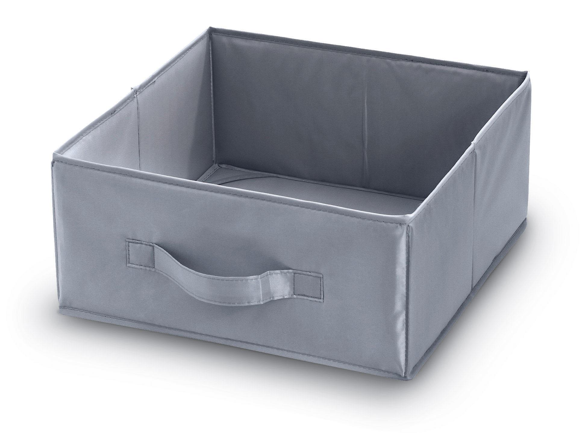 DOMOPAK Living Úložný box s poutkem šedý Velikost: menší