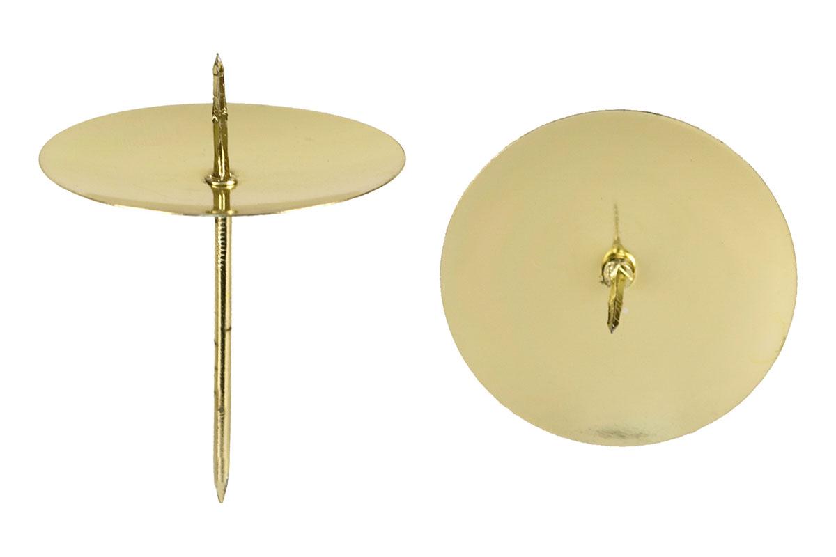 Artium Kovový bodec 8cm se 4ks Barva: zlatá
