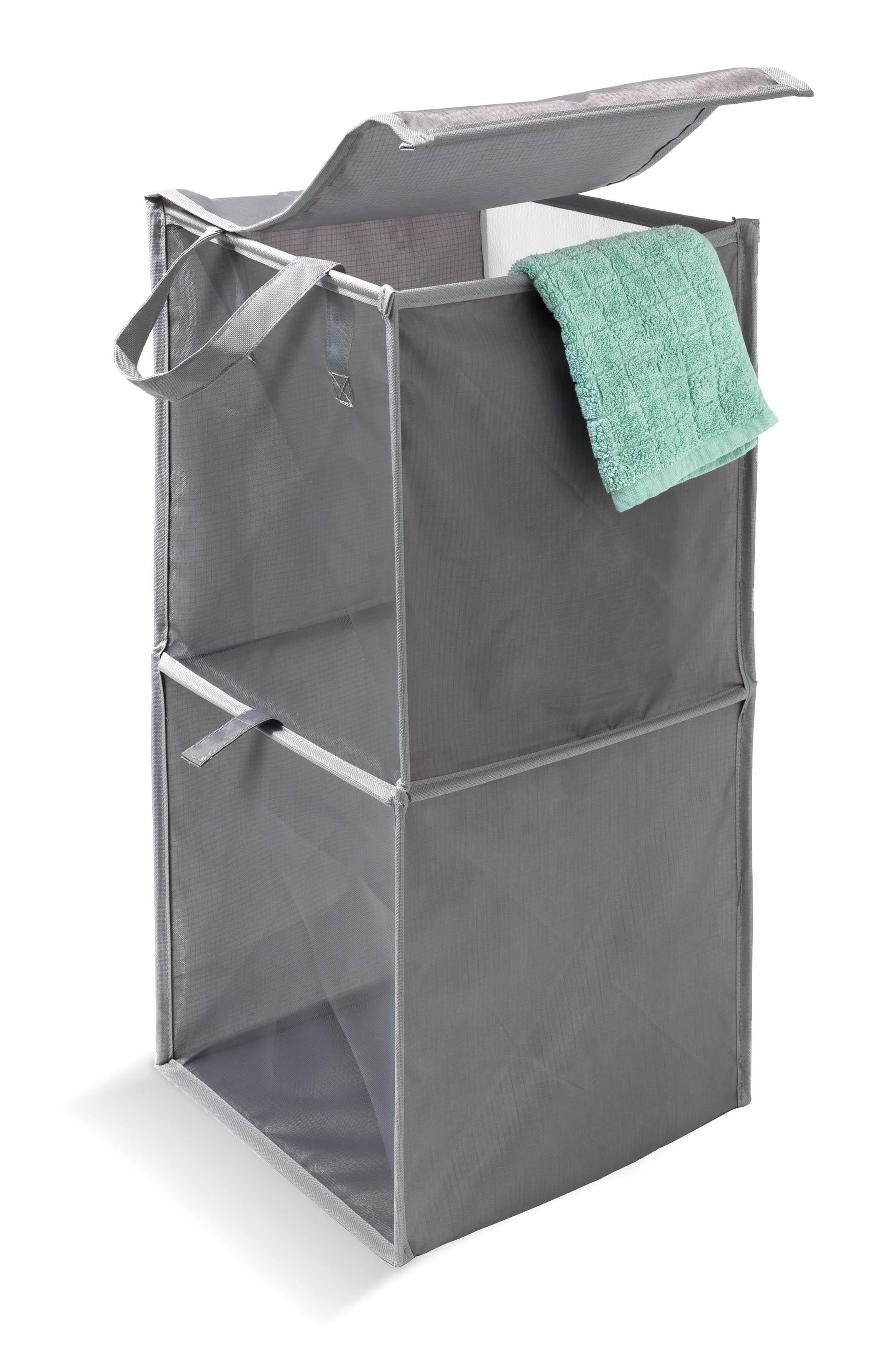 DOMOPAK Living Koš na prádlo DOMOPAK Barva: šedá