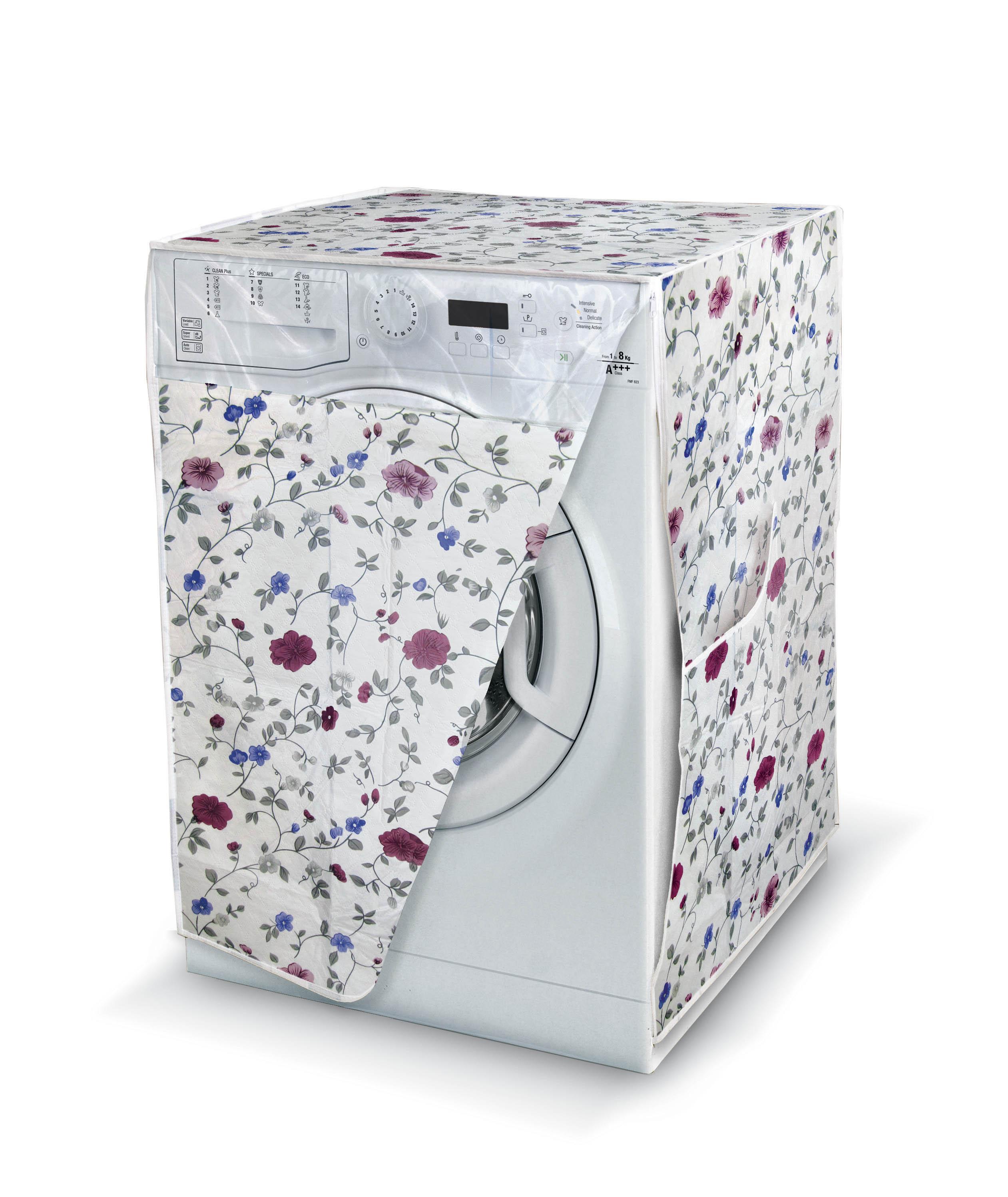 DOMOPAK Living Praktický obal na pračku s oknem Barva: multicolor