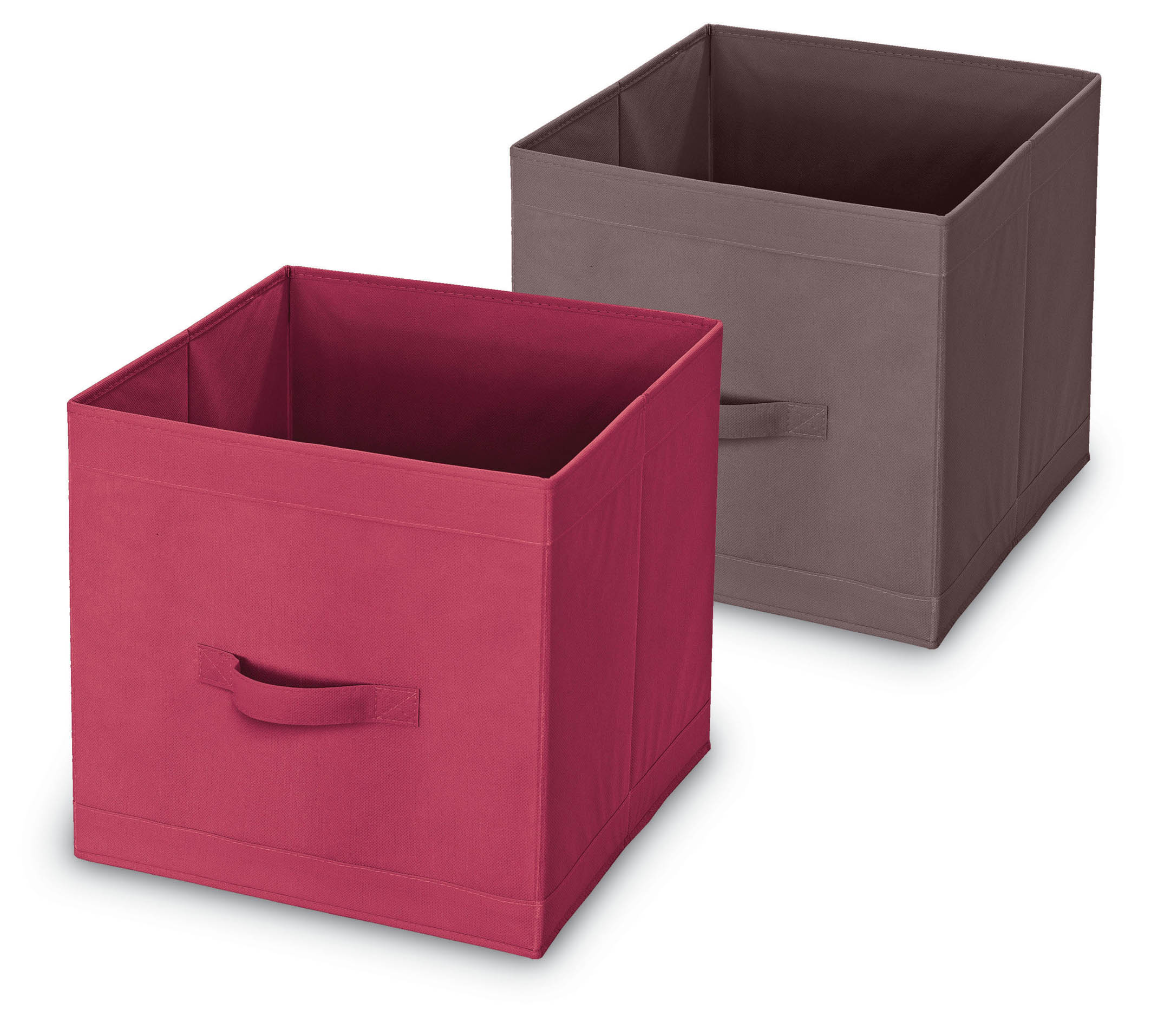 DOMOPAK Living Úložný box s poutkem Barva: růžová