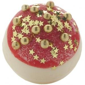 B Cosmetics Koule do koupele máslový špalíček vánoční záře