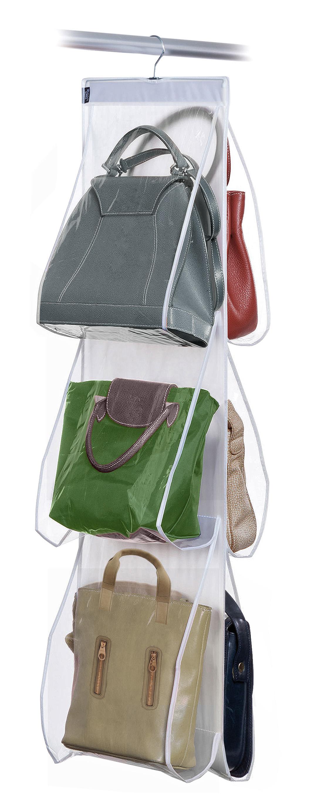 DOMOPAK Living Závěsný organizér na kabelky s 6 kapsami