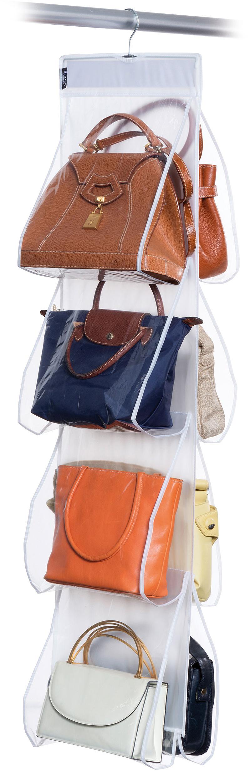 DOMOPAK Living Závěsný organizér na kabelky s 8 kapsami
