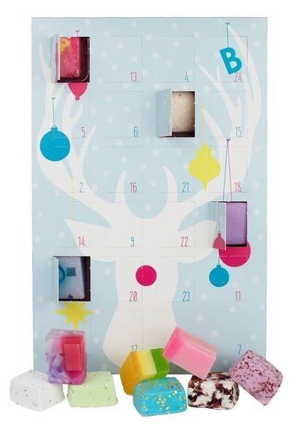 B Cosmetics Adventní kalendář s mýdly