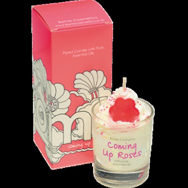 BOMB Cosmetics Svíčka v dárkovém balení růže