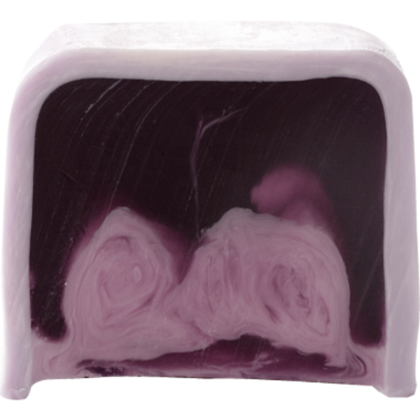 B Cosmetics Glycerinové mýdlo fialový déšť