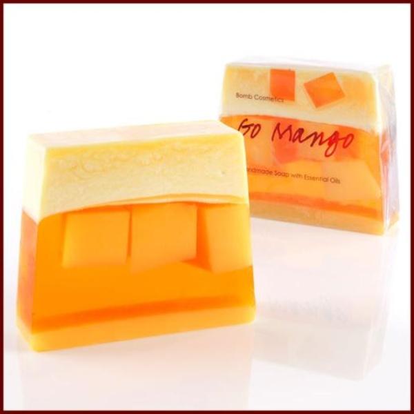 BOMB Cosmetics Glycerinové mýdlo mango
