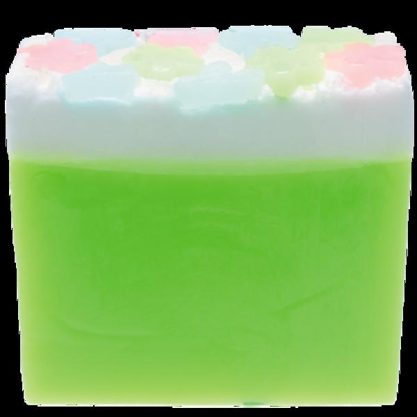 B Cosmetics Glycerinové mýdlo zelená louka