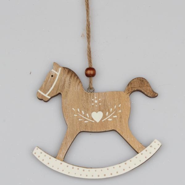 Casa de Engel Dřevěný koník závěs