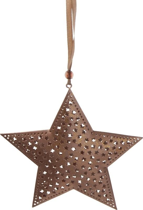 Harasim Hvězda kov 17cm