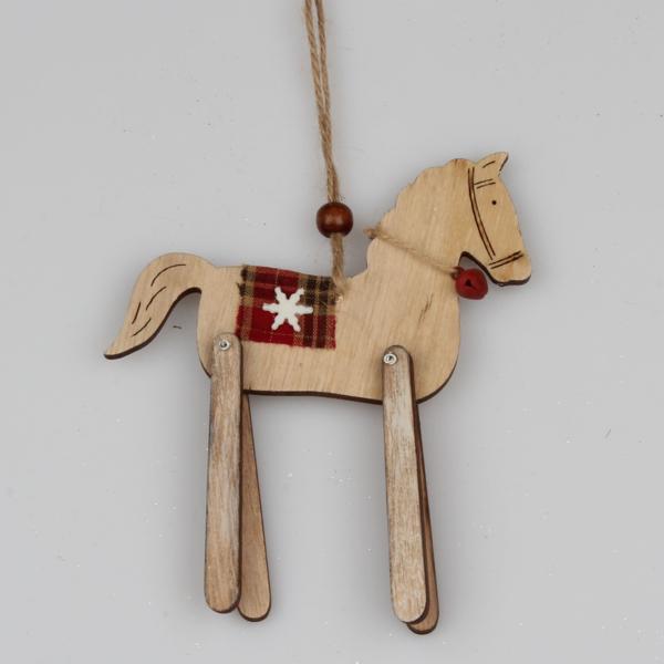 Casa de Engel Kůň - dřevěný - na zavěšení