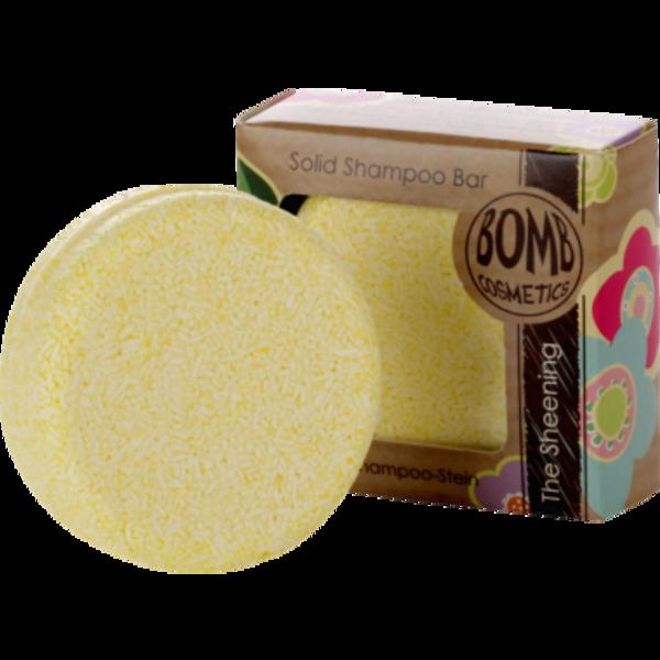 BOMB Cosmetics Tuhý šampón na vlasy citrón