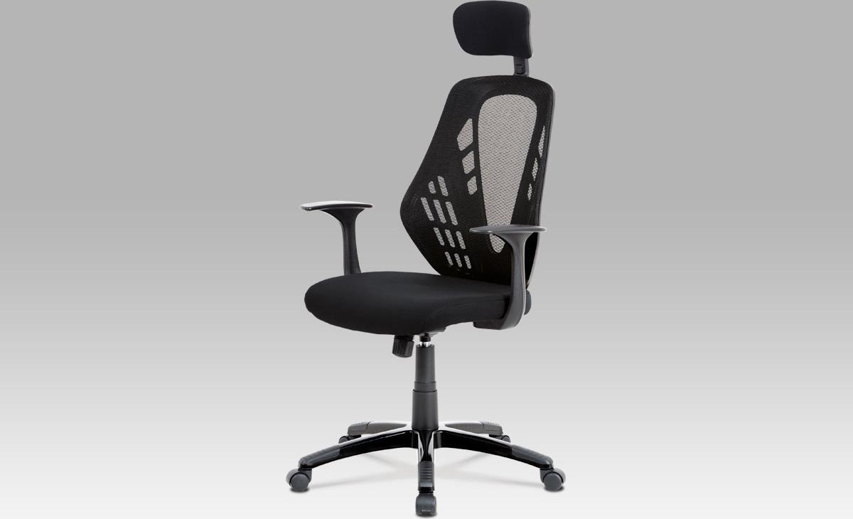 Kancelářská otočná židle  houpací mechanismus   opěrka hlavy