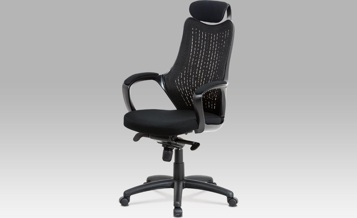 Kancelářská otočná židle   synchronní mechanismus   opěrka hlavy