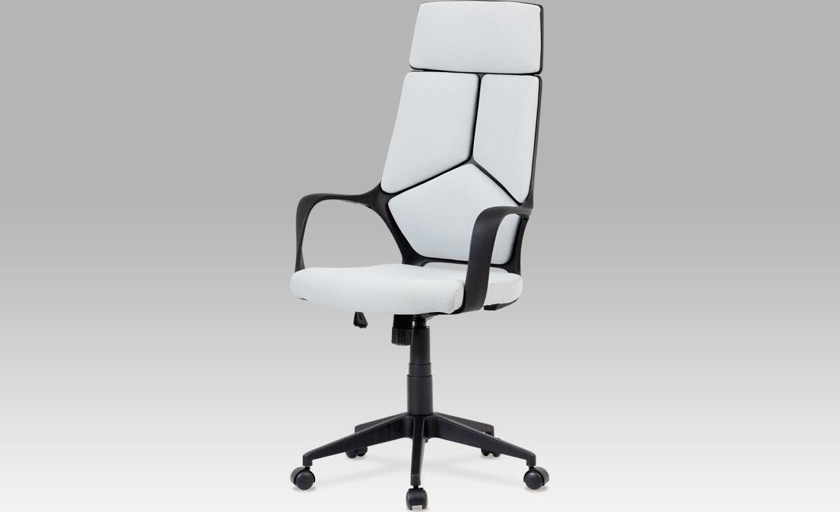 Kancelářská židle   látková   výškově nastavitelná Barva: šedá