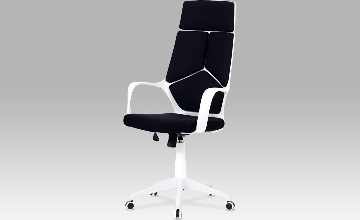 Kancelářská židle   látková   výškově nastavitelná Barva: černá