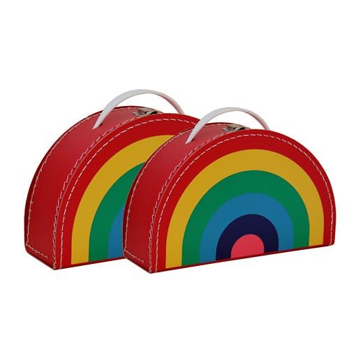 Kazeto Sada dětských kufříků|barevné provedení