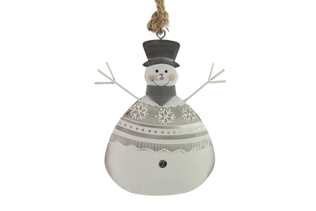 Sněhulák|k zavěšení|vánoční dekorace